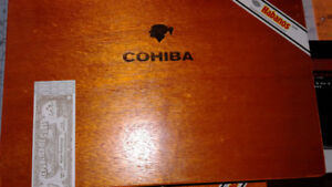 WOOD CI....R  BOXES from CUBA.