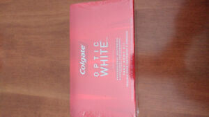 Colgate optic white professional whitening