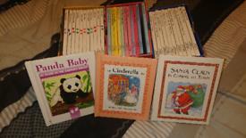 Children's reading books.