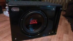 """12"""" SUB AND AMP COMBO 4 SALE"""