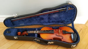 1/2 size Suzuki Violin with bow and hard case