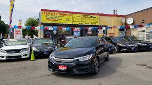 2018 HONDA CIVIC EX SEDAN LOADED 14 KM CLEAN TITLE
