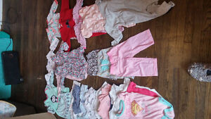 3-6 month plus some 9month and 12 month clothing