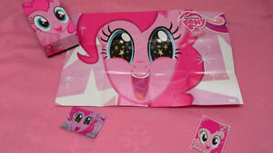My Little Pony Pinkie Pie box, poster, card(F36) & sticker