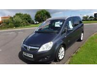 VauxhalL Zafira 1.9CDTi,2008,Design,Alloys,Air Con,Half Leather,63k,Full History,RE-CALL DONE