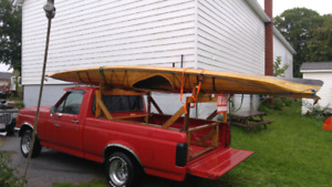 Cedar Strip 18 feet 1 person kayaks 4 sale or trade