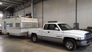 TRUCK AND CAMPER COMBO $2500 NEED GONE
