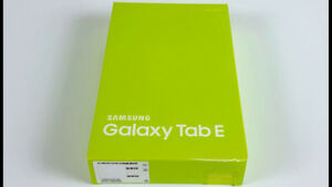 """Samsung Galaxy Tab E 8"""" 16GB Android 6.0 LTE Tablet- SEALED"""