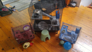 CAGES for RODENTS - Rat, Hamster, Mouse, Gerbil...