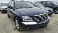 2006 CHRYSLER PACIFICA - 2008 CHEV MALIBU  2007 NISSAN QUEST