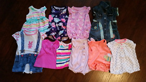 Girls 3-6 month clothes MUST SELL