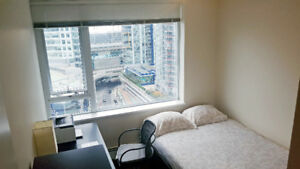 Furnished Private Bedroom+Private Bath Downtown Vancouver