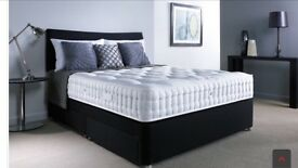 Full double bed , luxury double mattress,base and headboard
