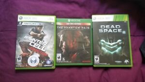Metal Gear Solid V, Splinter Cell Conviction, and Dead Space 2