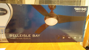 Harbor Breeze ceiling fan - brand new - box not opened