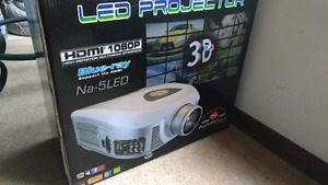 Na-5LED 1080p 3D projector
