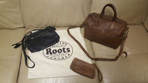 Roots leather purses & wallet