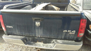 2004 2005 2006 2007 2008  Dodge Ram Tailgate Tail Gate Tailgates