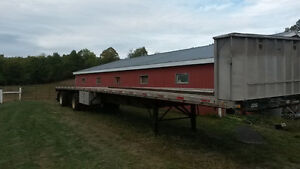 53' Lode King Flatbed Trailer Peterborough Peterborough Area image 1
