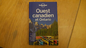 Lonely Planet West Canada in French
