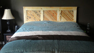 New Rustic Headboard Queen size or Wall accent