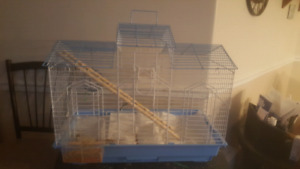 Barely used large birdcage.