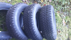 Four Used 195/70R14 Winter Tires