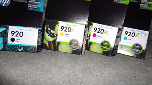 Ink - HP 920 Black, and CMY XL set of 4 cartridge