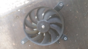 2009 LTR 450 cooling fan.