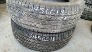 Pair of 2 Michelin Latitude Tour HP 245/60R18 tires (65% tread l