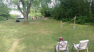 3 bedrooms Waterfront Private cottage in kawarthra lake