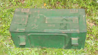WWII   AMO BOX FROM 1945