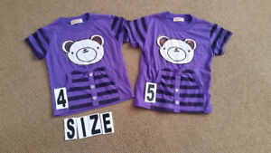 Size 4T , 5T    , $2 for both