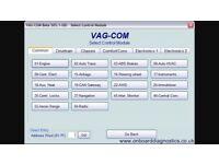 Vac com Volkswagen group cars diagnostic services