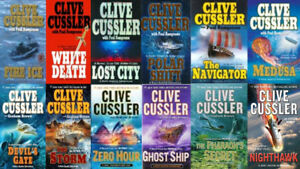 ENORMOUS SELECTION OF CLIVE CUSSLER HARDCOVERS