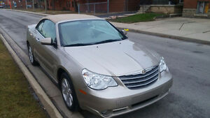 2008 Chrysler Sebring Limited Convertible in mint condition