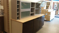 kitchen cabinet display