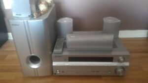 Pioneer 5.1 CH Home Theatre (receiver speakers remote)