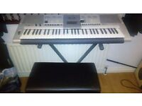 Yamaha Keyboard PSR-E403 with stand and stool