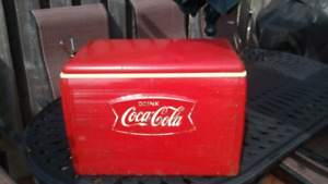 Antique coke cooler