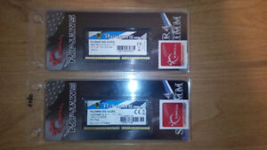 16GB DDR4 2666 G.SKILL SODIMM RAM Mémoire (32GB disponible)
