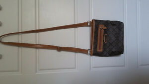3 handbags, 1 crossbody bag