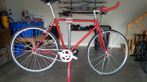Single speed hand built