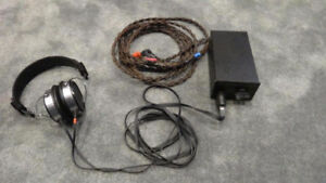 STAX electret earspeaker and headphones
