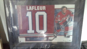 GUY LAFLEUR RETIRED NUMBERS UPPER DECK LTD EDITION 54/250.