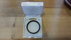 Camera lens filter/protector - 52mm, ultra clear, new