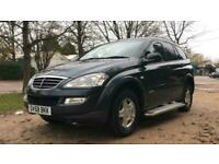2008 Ssangyong Kyron 2.0 CS 5dr 4WD Auto PANEL VAN Diesel Automatic