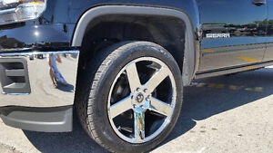 22 inch Dub Baller rims and rubber London Ontario image 5