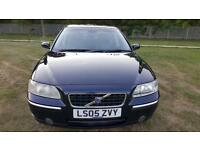 2005 Volvo S60 Blue MK1 2.5 T SE Geartronic 4dr 2 keys Long Mot 09/2018