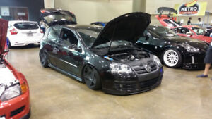 Volkswagen GTI with Air Ride